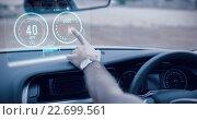 Купить «Composite image of image of a dashboard», фото № 22699561, снято 16 июля 2019 г. (c) Wavebreak Media / Фотобанк Лори