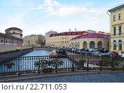Купить «Мало-Конюшенный мост. Петербург», эксклюзивное фото № 22711053, снято 21 июля 2018 г. (c) Staryh Luiba / Фотобанк Лори