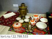 Купить «Посуда и предметы из Узбекистана», эксклюзивное фото № 22788533, снято 13 февраля 2016 г. (c) Вячеслав Палес / Фотобанк Лори