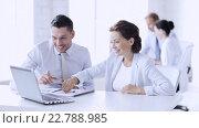 business people making high five gesture. Стоковое видео, видеограф Syda Productions / Фотобанк Лори