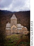 Монастырь Агарцин в Армении. Стоковое фото, фотограф Александр Овчинников / Фотобанк Лори