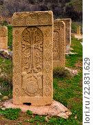 Армянский крест. Стоковое фото, фотограф Александр Овчинников / Фотобанк Лори
