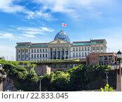 Купить «Официальная резиденция Президента Грузии в Тбилиси», фото № 22833045, снято 5 июля 2015 г. (c) Евгений Ткачёв / Фотобанк Лори