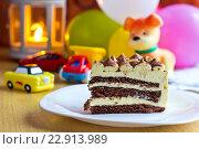 Детский день рождения. Стоковое фото, фотограф Александр Замоткин / Фотобанк Лори