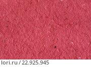 Красный фон - текстура декоративной цветной бумаги. Стоковое фото, фотограф Светлана Пасечная / Фотобанк Лори