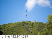 Купить «Пятигорск, телебашня на горе Машук», фото № 22941389, снято 12 мая 2016 г. (c) Валерий Шилов / Фотобанк Лори