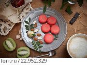 Не полезный завтрак. Стоковое фото, фотограф Екатерина Давыдова / Фотобанк Лори