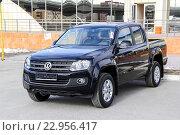 Купить «Volkswagen Amarok», фото № 22956417, снято 1 июня 2014 г. (c) Art Konovalov / Фотобанк Лори