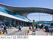 Аэропорт Шереметьево, терминал D.Москва (2016 год). Редакционное фото, фотограф Victoria Demidova / Фотобанк Лори