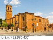 Plateresque Concathedral of San Pedro. Стоковое фото, фотограф Яков Филимонов / Фотобанк Лори
