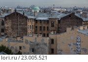 Санкт-Петербург крыши (2014 год). Редакционное фото, фотограф Пётр Мусатов / Фотобанк Лори