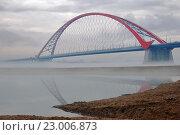 Купить «Бугринский мост. Новосибирск», фото № 23006873, снято 23 апреля 2016 г. (c) Nikitin / Фотобанк Лори