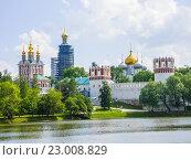 Купить «Новодевичий монастырь. Москва», фото № 23008829, снято 29 мая 2016 г. (c) Алексей Ларионов / Фотобанк Лори