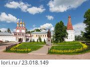 Купить «Иосифо-Волоцкий мужской монастырь», фото № 23018149, снято 30 мая 2016 г. (c) Наталья Волкова / Фотобанк Лори