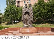 Купить «Святые Благоверные», фото № 23028189, снято 27 мая 2016 г. (c) Владимир Гуторов / Фотобанк Лори