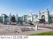Панорама Белорусского вокзала (2016 год). Редакционное фото, фотограф Наталья Волкова / Фотобанк Лори