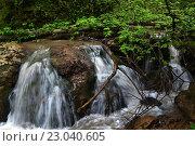 Водопад. Стоковое фото, фотограф Евгений Тищук / Фотобанк Лори