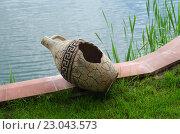 Старинная амфора. Стоковое фото, фотограф Евгений Островский / Фотобанк Лори