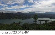 Купить «view to lake or river from land hills», видеоролик № 23048461, снято 18 февраля 2016 г. (c) Syda Productions / Фотобанк Лори