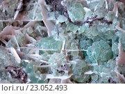 Купить «Флюорит каменный фон», фото № 23052493, снято 24 февраля 2016 г. (c) Татьяна Белова / Фотобанк Лори