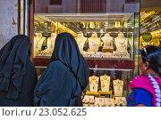 Купить «Рынок золота в Дубае», фото № 23052625, снято 9 ноября 2013 г. (c) Олег Жуков / Фотобанк Лори