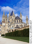 Caen, Abbaye aux Hommes, Men´s Abbey, Saint Etienne, Normandy, Calvados, Basse Normandie, France. Стоковое фото, фотограф José Antonio Moreno / age Fotostock / Фотобанк Лори