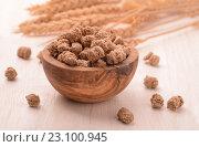 Купить «Отруби пшеничные», фото № 23100945, снято 24 мая 2016 г. (c) Антон Стариков / Фотобанк Лори