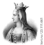 Купить «Adélaïde of Paris or Aélis, Adelheid von Friaul, c. 850/853-901, the second wife of Louis the Stammerer, King of Western Francia.», фото № 23111661, снято 25 марта 2016 г. (c) age Fotostock / Фотобанк Лори