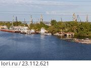 Купить «Устье реки Самарка», фото № 23112621, снято 11 мая 2016 г. (c) Акиньшин Владимир / Фотобанк Лори