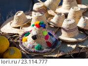 Купить «Традиционные берберские шляпы», фото № 23114777, снято 31 октября 2013 г. (c) Александр Трофимов / Фотобанк Лори