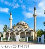 Купить «Мечеть Джума-Джами (Хан-Джами). Евпатория, Крым», эксклюзивное фото № 23114781, снято 27 мая 2016 г. (c) Александр Щепин / Фотобанк Лори
