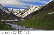 Купить «Утро в горах», фото № 23121433, снято 22 мая 2016 г. (c) александр жарников / Фотобанк Лори