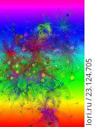 Купить «Абстрактная цифровая компьютерная картина», иллюстрация № 23124705 (c) Юрий Кобзев / Фотобанк Лори