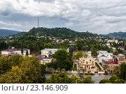 Купить «Вид на Сухуми с высоты», фото № 23146909, снято 6 августа 2015 г. (c) Сергей Гусев / Фотобанк Лори