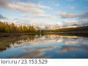 Купить «Улаганский перевал. Алтай», фото № 23153529, снято 6 июня 2016 г. (c) Алексей Ширманов / Фотобанк Лори