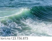Купить «Sea wave background.», фото № 23156873, снято 23 мая 2016 г. (c) Юрий Брыкайло / Фотобанк Лори