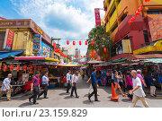 Купить «Chinatown, Kuala Lumpur, Malaysia», фото № 23159829, снято 15 июня 2016 г. (c) Александр Подшивалов / Фотобанк Лори