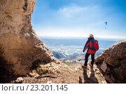 Serra del Montsec, La Noguera, Lleida, Spain. Стоковое фото, фотограф Xavier Forés & Joana Roncero / age Fotostock / Фотобанк Лори