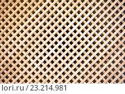 Купить «Wood background. Wooden fence from crossed planking», фото № 23214981, снято 21 февраля 2016 г. (c) Татьяна Белова / Фотобанк Лори