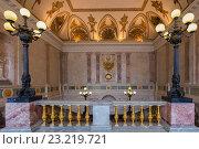 Купить «Интерьер Инженерного замка (Михайловский замок), Санкт-Петербург», фото № 23219721, снято 16 мая 2015 г. (c) Anna P. / Фотобанк Лори