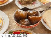 Варенье из инжира по-грузински. Стоковое фото, фотограф Gagara / Фотобанк Лори