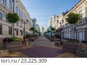 Купить «Обновлённый переулок Соборный», фото № 23225309, снято 3 июля 2016 г. (c) Борис Панасюк / Фотобанк Лори