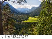 Купить «Норвегия, национальный парк Иннердален», фото № 23237577, снято 11 августа 2011 г. (c) Юлия Бабкина / Фотобанк Лори