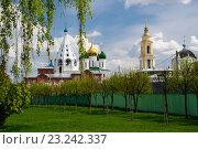 Вид на храмы Коломенского кремля весной (2016 год). Редакционное фото, фотограф Анна Сапрыкина / Фотобанк Лори