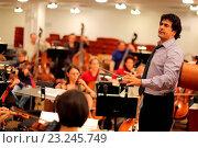 Купить «Alberto Veronesi, Opera Orchestra of New York», фото № 23245749, снято 3 июля 2020 г. (c) age Fotostock / Фотобанк Лори