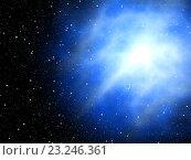 Купить «Большой взрыв сверхновой звезды», иллюстрация № 23246361 (c) Алексей Романенко / Фотобанк Лори