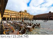 Купить «Plaza Mayor. Salamanca», фото № 23254745, снято 17 ноября 2014 г. (c) Яков Филимонов / Фотобанк Лори