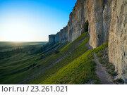 Купить «Гора Ак-Кая, Крым», фото № 23261021, снято 14 мая 2016 г. (c) Алексей Маринченко / Фотобанк Лори
