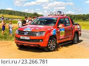 Купить «Volkswagen Amarok», фото № 23266781, снято 11 июля 2016 г. (c) Art Konovalov / Фотобанк Лори