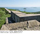 Купить «Форт №9, форт Князя Рюрика на острове Русском», фото № 23269517, снято 3 июля 2016 г. (c) Корнилова Светлана / Фотобанк Лори
